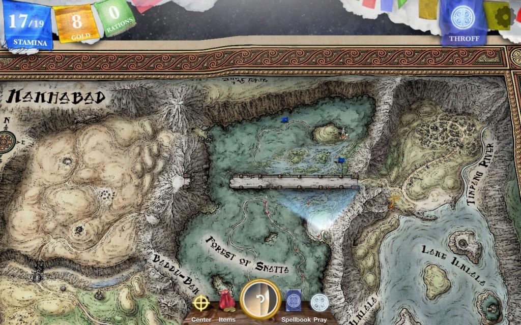 Sorcery! 3 Map