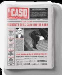 portada ficticia del El Caso
